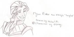 Flynn Rider from 'Tangled'