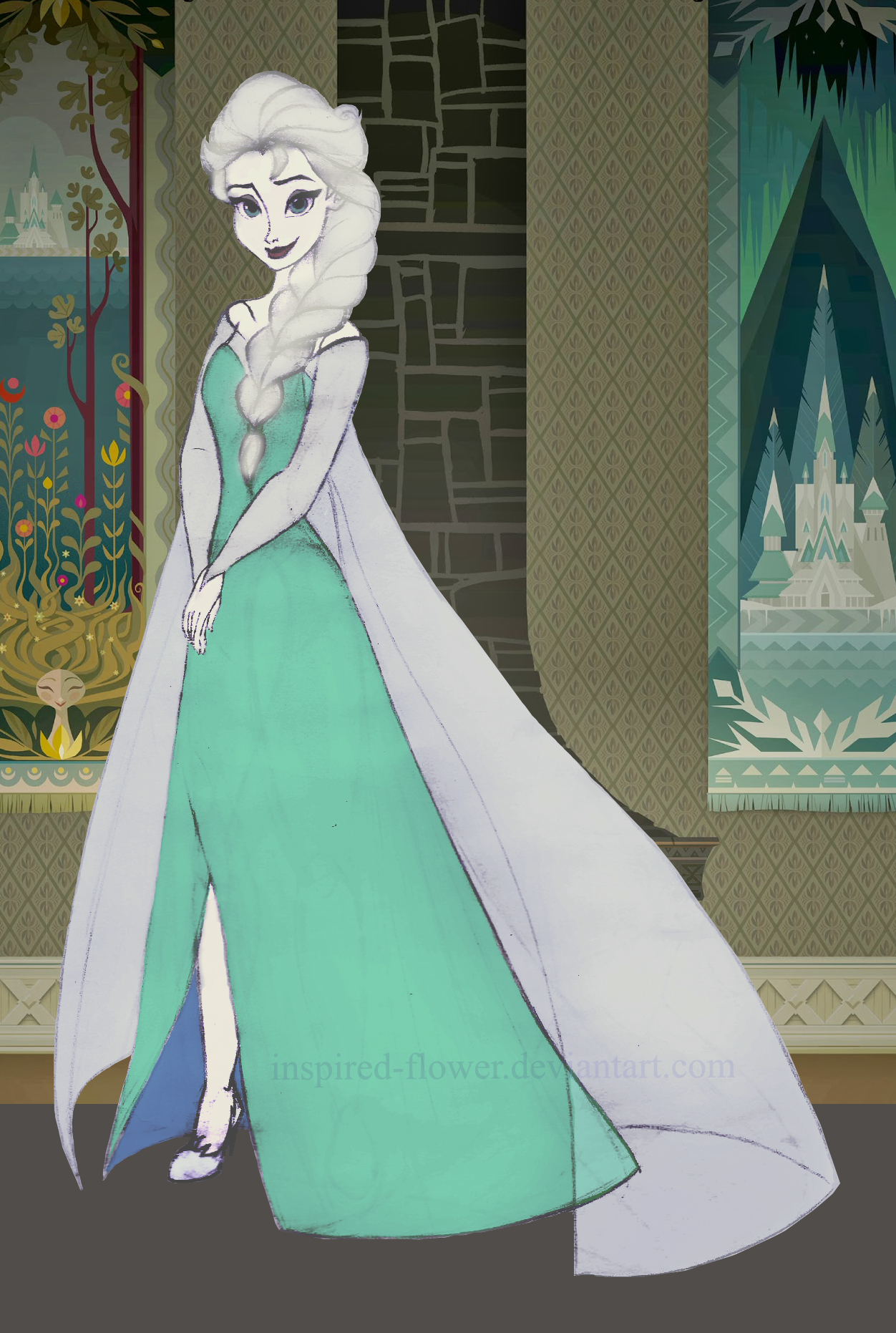 Perfectly Perfect Elsa by inspired-flower