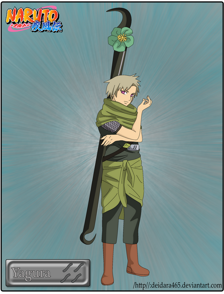 Yagura by Deidara465 on DeviantArt Yagura Three Tails