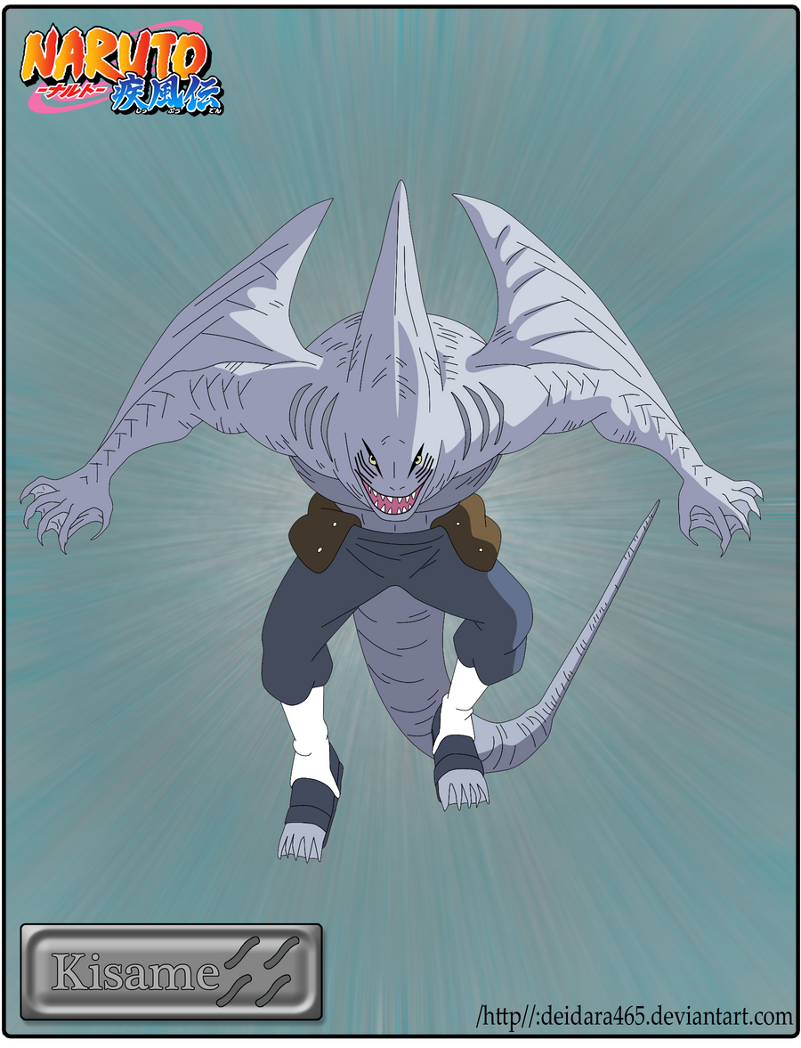 Kisame Shark Form by Deidara465 on DeviantArt