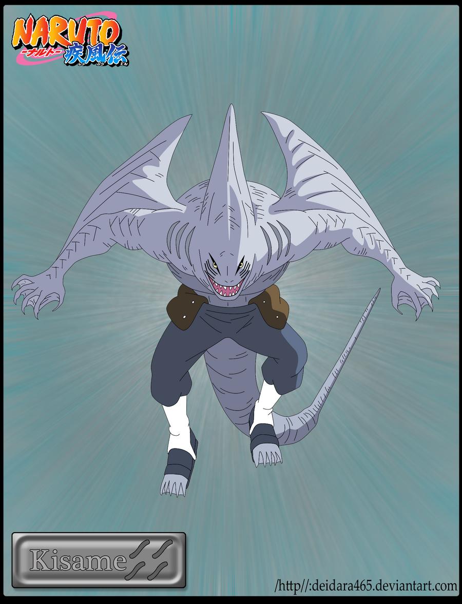 Kisame Shark Form by Deidara465 on DeviantArt