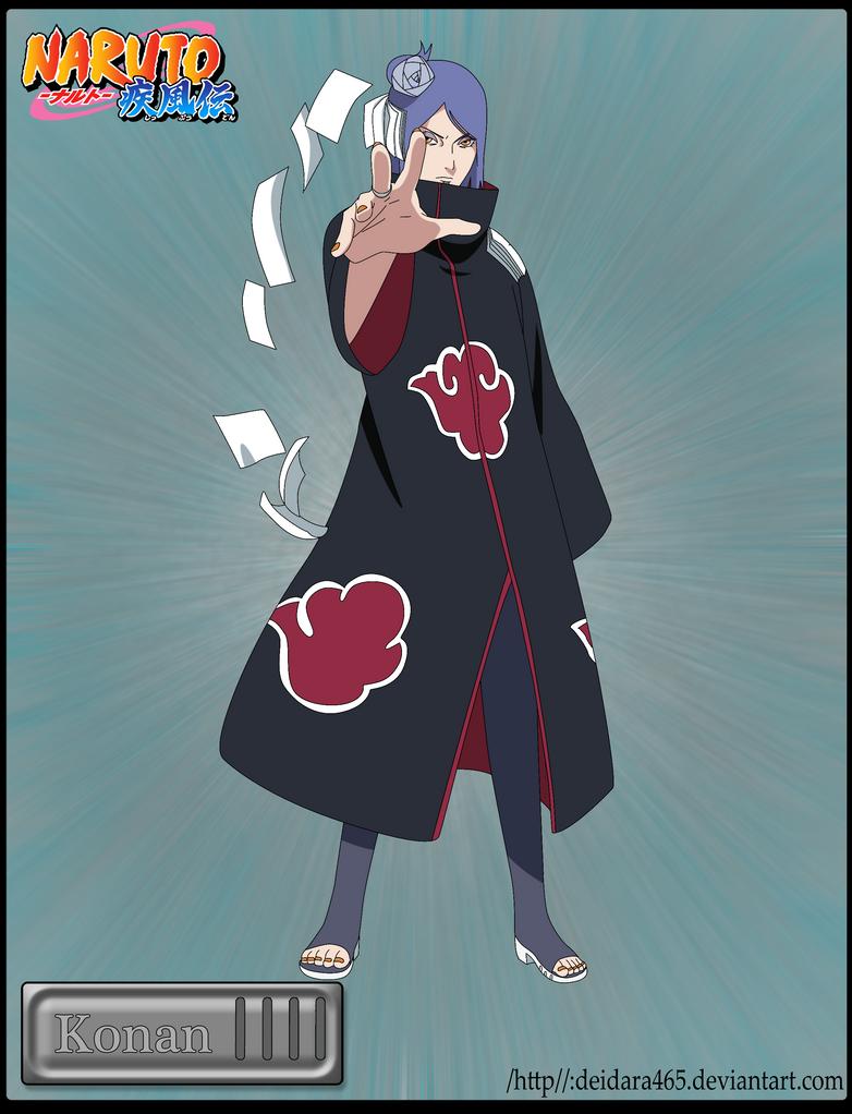 Naruto Konan Without Cloak