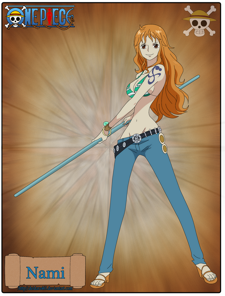 Nami-New by Deidara465