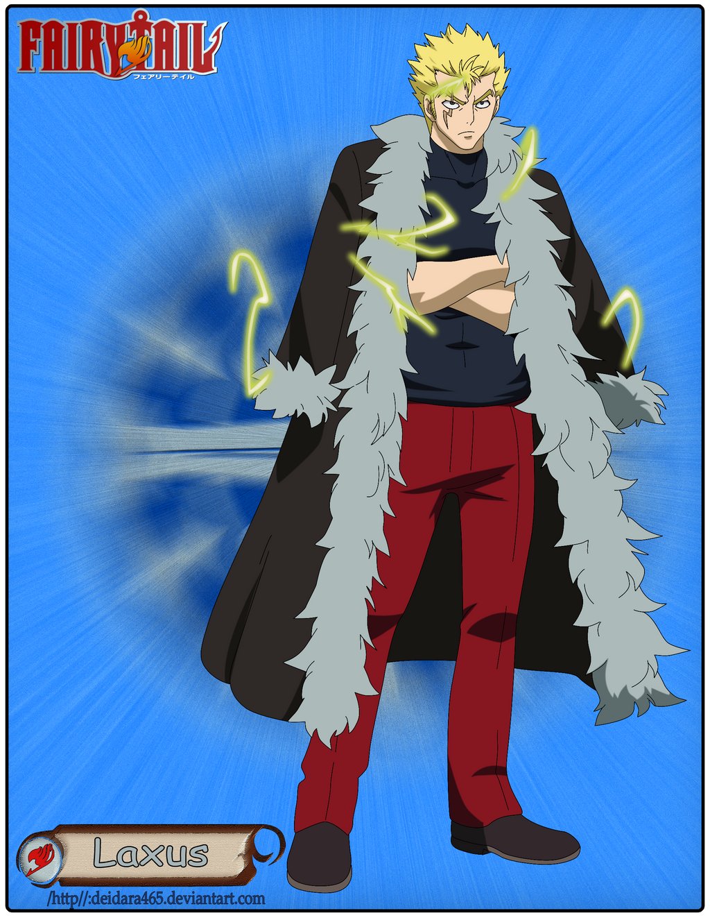 Laxus by Deidara465 on DeviantArt