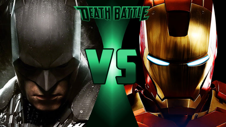 Death Battle Batman vs. Iron Man by Blackout1974 on DeviantArt