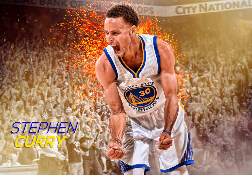 Stephen Curry Dope Wallpaper: Stephen Curry Edit By Deleon88 On DeviantArt