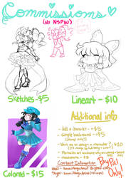 I'm Taking Commissions! _Now Taking DA Points_ by AlysTown