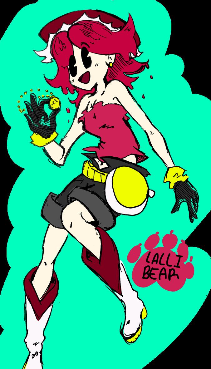 Penelope Bottlecap by lallibear
