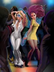 Dazzler and Pixie by ExecutiveOrder9066