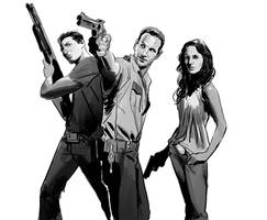 The Walking Dead by ExecutiveOrder9066
