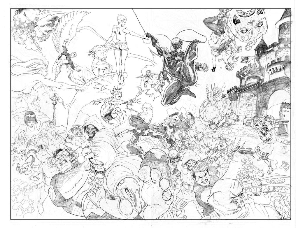 All New X-Men and Ultimate X-Men v Doom by ExecutiveOrder9066