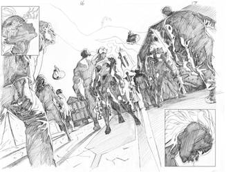 Extraordinary X Men 17  pgs 16 and 17 by ExecutiveOrder9066