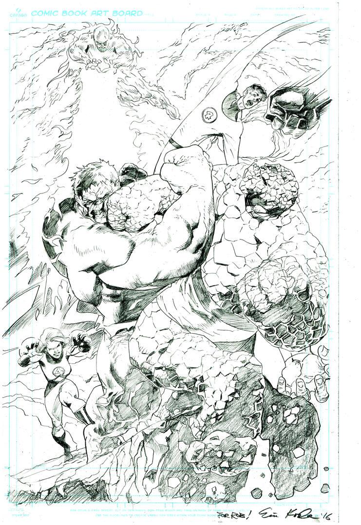 Hulk V Thing by ExecutiveOrder9066