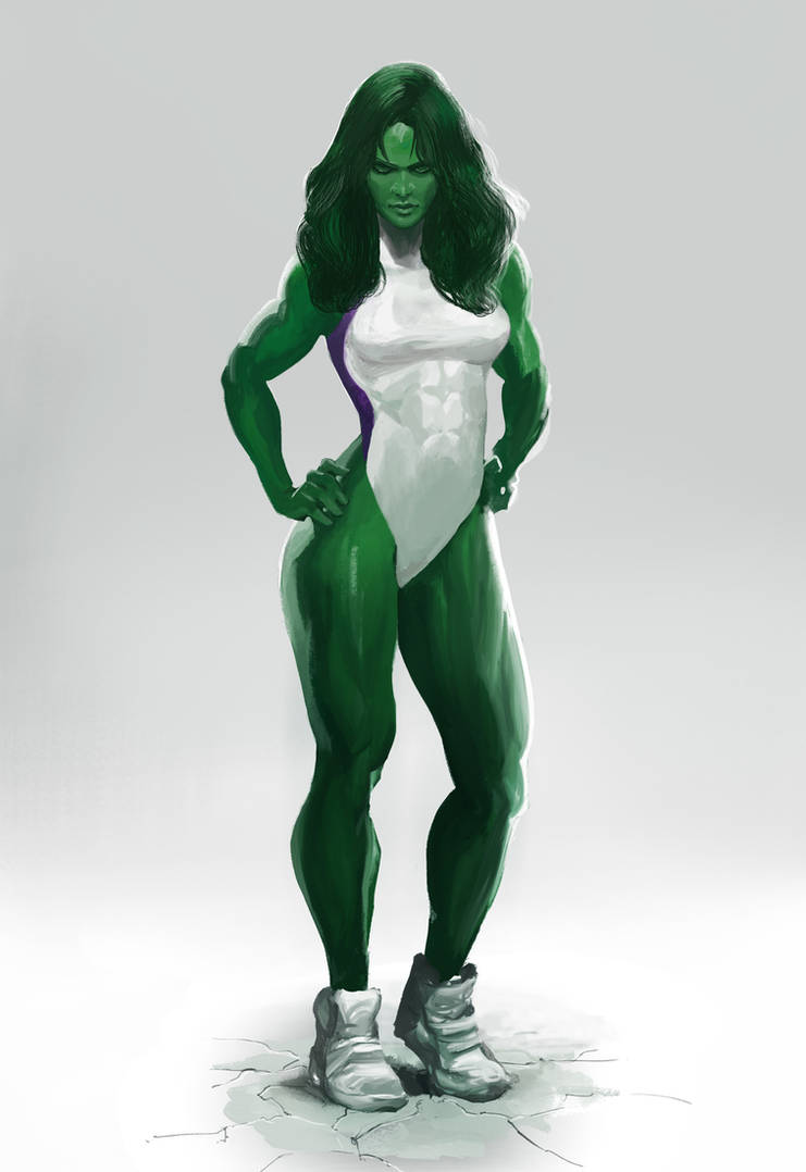 She-Hulk Concept Art by ExecutiveOrder9066