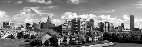 Buffalo Skyline by DouglasAllen