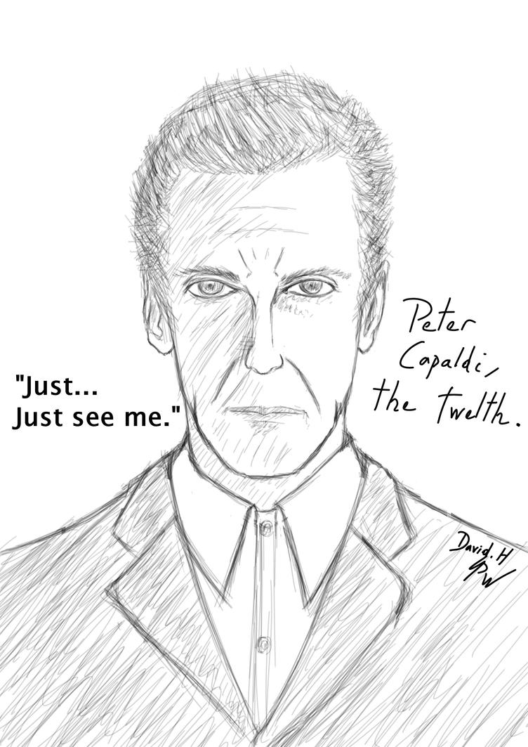Peter Capaldi the Twelth by PhoenixWalker