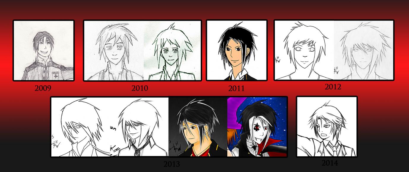 Timeline of Warren (drawing) by PhoenixWalker