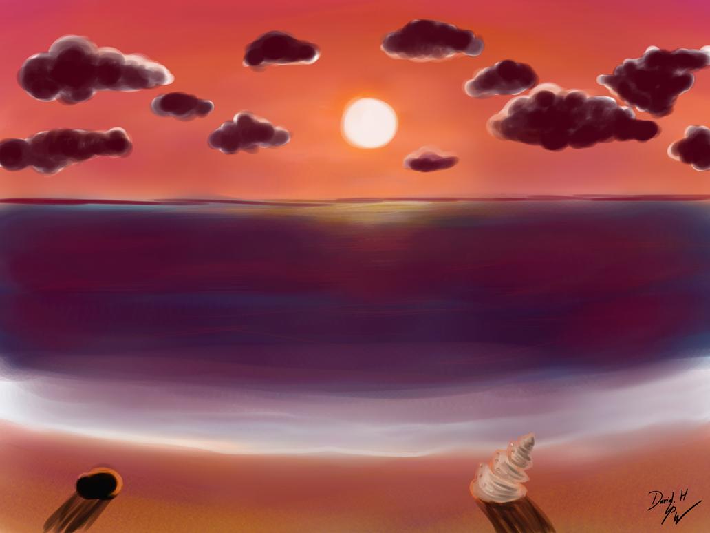 Sunset by PhoenixWalker