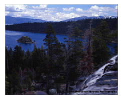 Eagle Falls Over Emerald Bay by TheDarkKnight78