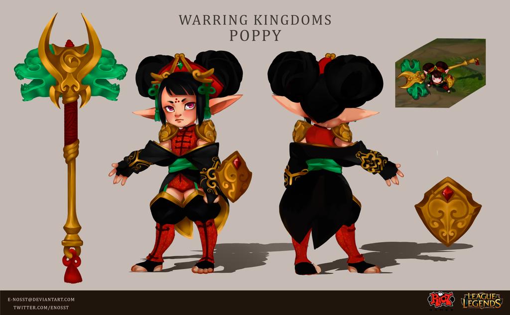 Warring Kingdoms Poppy by E-nosst