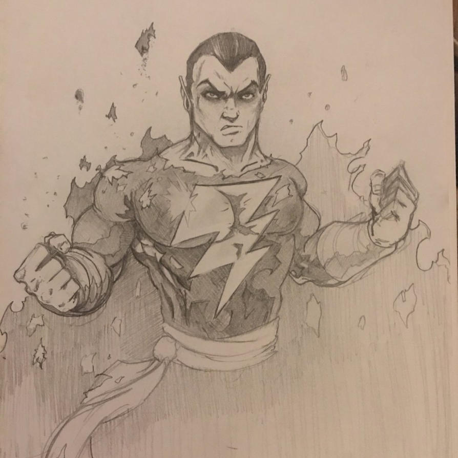 Black Adam by Derek4u