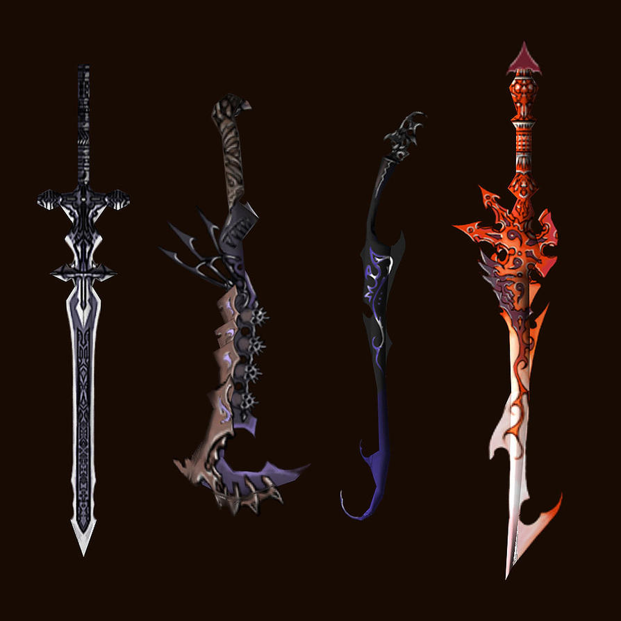 Sword designs by Wen-M by qylin on DeviantArt