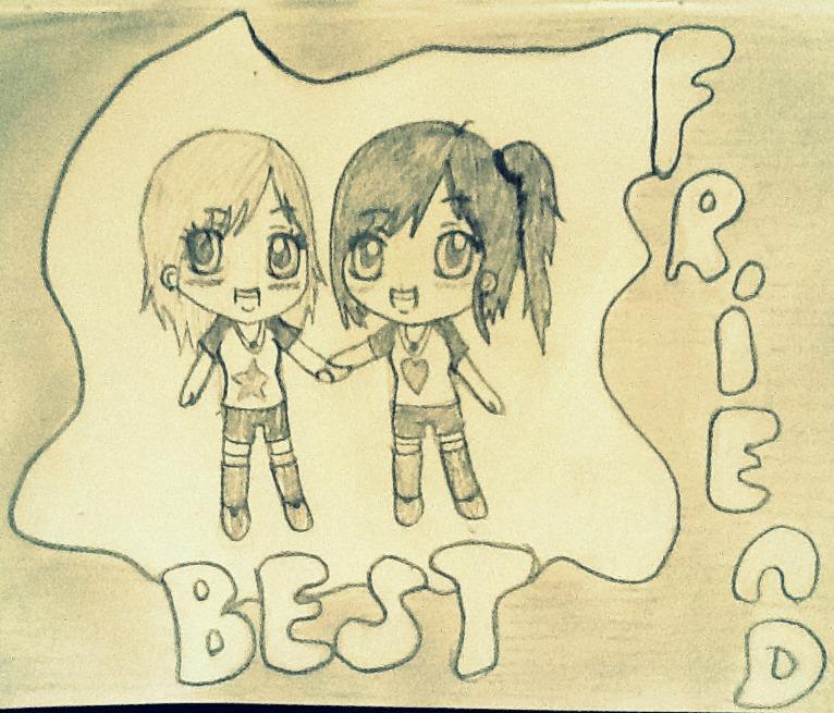 25 Best Ideas about Best Friend Drawings on Pinterest