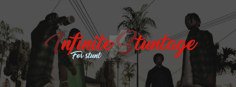 Infinite Stuntage by andrewsgraffix