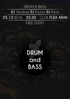 Poster Drum n Bass Event 25.12.2016