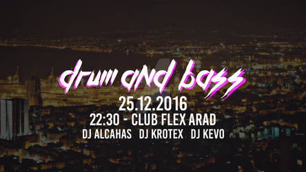 Cover Drum N Bass 25.12.2016