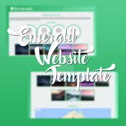 Emerald Website Template