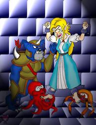 RETROPOST: Zelda Tickled by CheshireCaterling