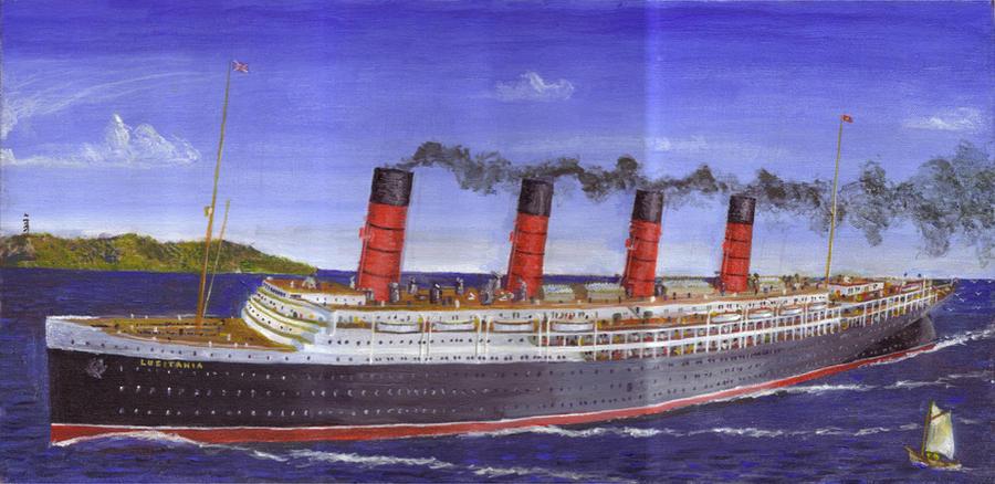Old Head Of Kinsale Lusitania