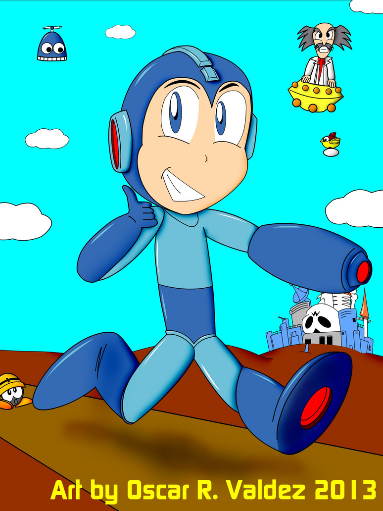 Megaman my style by oscar richard on deviantart for Megaman 9 portada