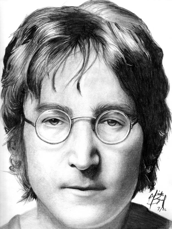 Line Drawing John Lennon : John lennon by dead beat nick on deviantart