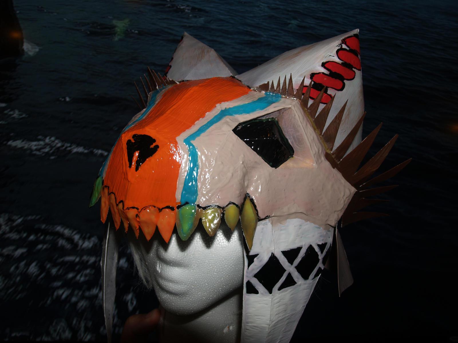 Monster Hunter Bone Helm