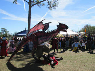 Rathalos Winning Dragon Festival Melbourne Florida
