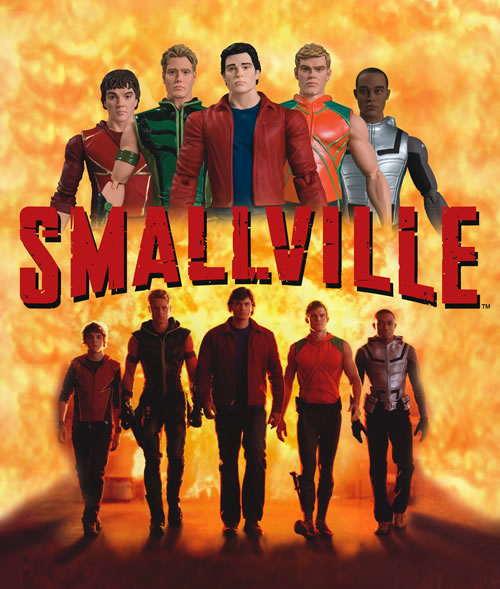 Smallville Justice League Toys by skyknightnd on DeviantArt