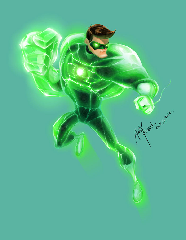 Green Lantern by skyknightnd