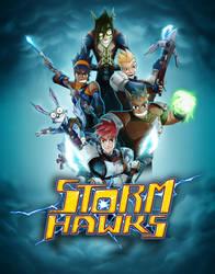 Storm Hawks poster by skyknightnd
