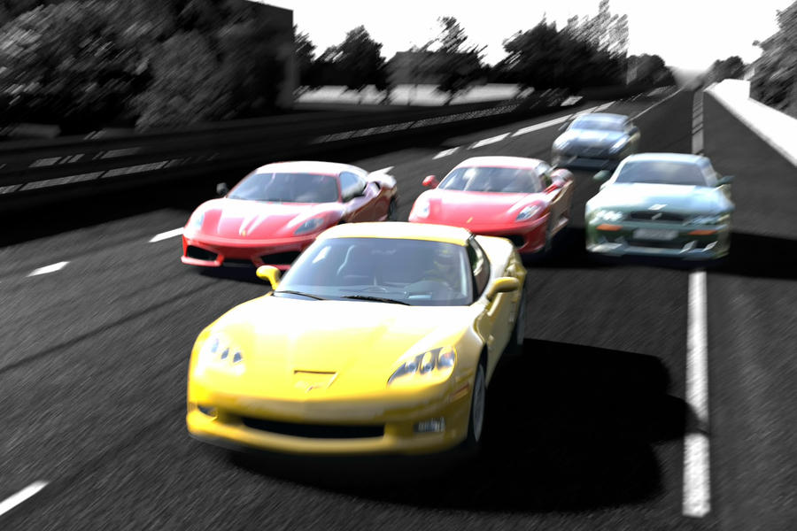 Race at Circuit De La Sarth by SonicAndTailsfan64