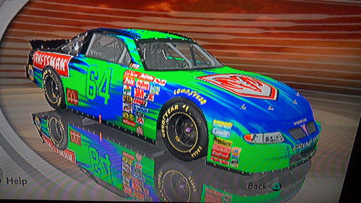 NASCAR Thunder 2003 Custom Car