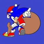 Santa Sonic :)