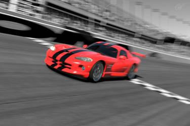 Viper Speeding in Daytona by SonicAndTailsfan64