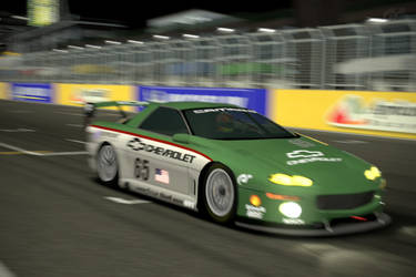 Racer Camero At Night by SonicAndTailsfan64