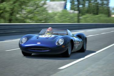 Historic Jaguar by SonicAndTailsfan64