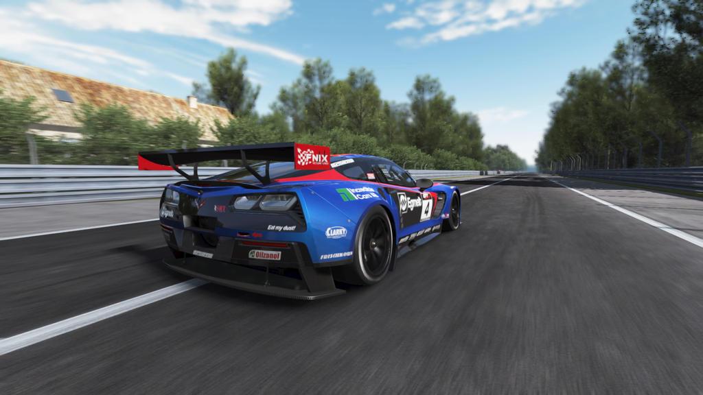 Speeding Corvette by SonicAndTailsfan64