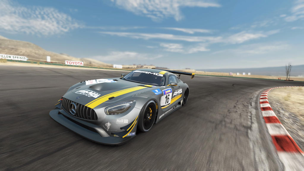 Mercedes New GT Racer by SonicAndTailsfan64