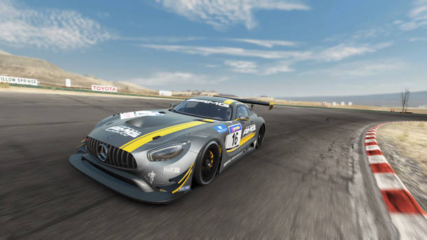 Mercedes New GT Racer