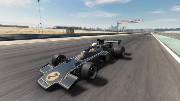 Vintage F1 Race Car